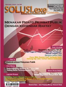 sampul dpn SOLUSI.exe Edisi kedua Jan-Jun 2007