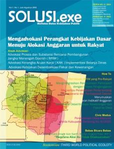 sampul dpn SOLUSI.exe Vol.1 No.1 Jun-Agust 2006