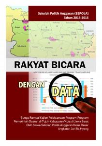 15 Buku Rakyat Bicara dengan Data