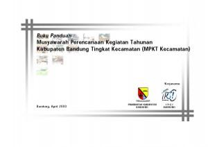 Sampul Buku Panduan MPKT Kecamatan