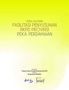 12 Modul Pelatihan Penyusunan RKPD Provinsi Peka Perdamaian